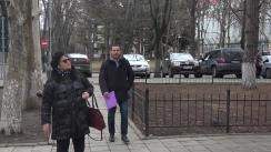 Ruslan Codreanu depune la Secretariatul Parlamentului Republicii Moldova un proiect de lege privind modificarea Codului Electoral