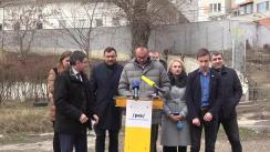 """Conferință de presă susținută de ctre deputații și consilierii municipali ai Partidului Acțiune și Solidaritate cu tema """"Interzicerea construcțiilor ilegale în spațiile verzi"""""""