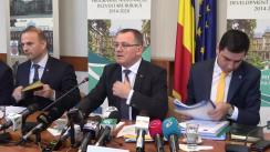 Conferință de presă susținută de Ministrul Agriculturii și Dezvoltării Rurale din România, Adrian Oros, privind programele de minimis și noile măsuri de sprijin pentru fermieri ce vor fi lansate în anul 2020