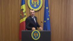 Declarațiile Prim-ministrului Republicii Moldova, Ion Chicu, după ședința Guvernului Republicii Moldova din 12 februarie 2020