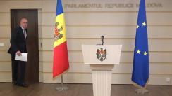 Briefing susținut de Președintele PDM, Pavel Filip, privind lansarea unei inițiative legislative cu privire la protecția victimelor deportărilor
