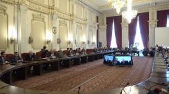 Audierea domnului Virgil-Daniel Popescu, candidat la funcția de Ministru al Economiei, Energiei și Mediului de Afaceri