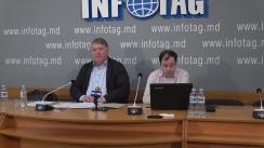 """Conferință de presă organizată de Asociația Sociologilor și Demografilor din Republica Moldova cu tema """"Opțiunile social-politice ale cetățenilor în preajma alegerilor parlamentare noi din circumscripția uninominală nr.38 mun. Hîncești"""""""