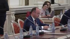 Audierea domnului Bogdan Lucian Aurescu, candidat la funcția de Ministru al Afacerilor Externe