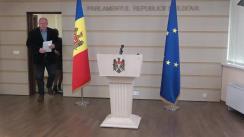 Briefing susținut de Președintele Comisiei juridice, numiri și imunități, Vasile Bolea, privind concursul pentru CSM