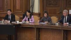 Audierea doamnei Victoria Violeta Alexandru, candidat la funcția de Ministru al Muncii și Protecției Sociale