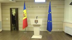 Briefing de presă susținut de fracțiunea parlamentară a Partidului Politic ȘOR