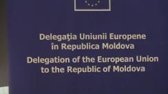 Conferință de presă susținută de directorul general adjunct pentru Europa și Asia Centrală în cadrul Serviciului European de Acțiune Externă din partea EU, Luc Pierre Devigne, privind stadiul de punere în aplicare și provocările în implementarea Acordului de asociere UE-Republica Moldova