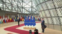 Declarație de presă susținută de Președintele României, Klaus Iohannis, înaintea reuniunii Consiliului European