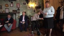 """Club de presă organizat de Centrul de Investigații Jurnalistice la tema """"Persoanele cu dizabilități, discriminate în accesul la transportul pubic"""""""