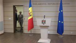 Declarația fracțiunii PSRM în timpul ședinței Parlamentului Republicii Moldova din 21 februarie 2020