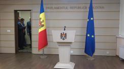 Declarație de presă susținută de către deputații Blocului ACUM