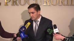 Declarațiile Procurorului General, Alexandr Stoianoglo, după ședința Consiliului Superior al Procurorilor din 21 februarie 2020