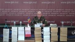 """Conferință de presă susținută de Besedovschi Nicolae, veteran de război al MAI al Republicii Moldova, cu tema """"Veteran al războiului pentru independența și integritatea Republicii Moldova este ignorat, intimidat, hărțuit, discriminat de demnitarii de stat pentru că a refuzat să dea mită"""""""