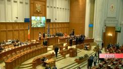 Ședința comună a Camerei Deputaților și Senatului României din 24 februarie 2020. Prezentarea, dezbaterea și votarea listei de miniștri și a Programului de guvernare