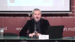 """Conferință de presă organizată de compania de cercetare sociologică [imas] cu tema """"Barometrul Socio-Politic – Februarie 2020"""""""