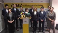 """Conferință de presă susținută de președinta PAS, Maia Sandu, cu tema """"Raportul alternativ de 100 zile al Guvernului Dodon"""""""