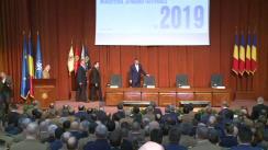 Prezentarea raportului privind activitatea desfășurată de Ministerul Apărării Naționale în anul 2019 și a principalelor obiective pentru anul 2020