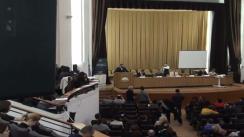 """Deschiderea Conferinței """"Reglementări fundamentale în cadrul noului Cod civil și al noului Cod de procedură civilă"""""""