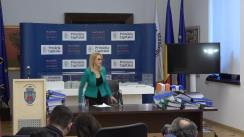 Conferință de presă susținută de Primarul General al Municipiului București, Gabriela Firea, pe tema vinietei Oxigen