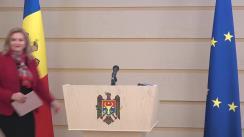 Briefing de presă susținut de către deputata Fracțiunii PD, Ruxanda Glavan