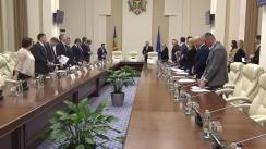 Ședința Consiliului de coordonare a politicilor anticorupție și reformei justiției pe lângă prim-ministru