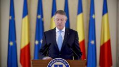 Declarații de presă susținute de Președintele României, Klaus Iohannis, după ședința CSAT din 26 februarie 2020