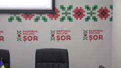 """Conferință de presă Partidul Politic ȘOR cu tema """"Tentativa de eliminare a lui Vitalie Balinschi din cursa electorală pentru Hâncești și intimidarea alegătorilor"""""""