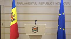 Declarație de presă susținută de către deputații fracțiunii PRO Moldova