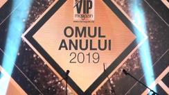 """Gala Revistei VIP MAGAZIN """"Omul Anului 2019"""""""