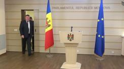 Declarația fracțiunii PSRM în timpul ședinței Parlamentului Republicii Moldova din 28 februarie 2020