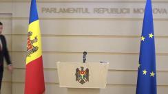 Declarațiile lui Vladimir Odnostalco în timpul ședinței Parlamentului Republicii Moldova din 28 februarie 2020