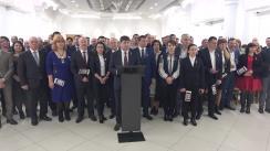 Conferință de presă după Consiliul Politic Național al Platformei DA