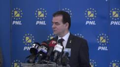 Conferință de presă după ședința Biroului Executiv al PNL din 2 martie 2020