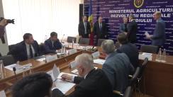 Ședința Colegiului Ministerului Agriculturii, Dezvoltării Regionale și Mediului