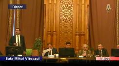 Audierea domnului Marian Cătălin Predoiu, candidat la funcția de Ministru al Justiției