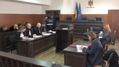 Ședința de judecată pe cazul omorului din satul Vulcănești, raionul Nisporeni