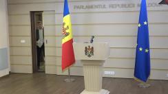 Declarațiile lui Lilian Carp înainte de ședința Parlamentului Republicii Moldova din 6 martie 2020