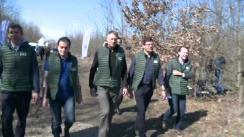 """Evenimentul de lansare a Campaniei Naționale de Împădurire """"O pădure cât o țară"""""""
