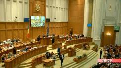 Ședința în plen a Camerei Deputaților României din 9 martie 2020