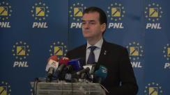 Conferință de presă după ședința Biroului Permanent Național al PNL din 9 martie 2020