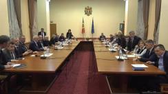 Ședința Comisiei Extraordinare de Sănătate Publică