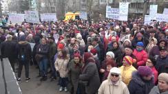 Acțiune de protest inițiată de Partidul Politic ȘOR împotriva derapajelor antidemocratice din Republica Moldova care se întețesc în ultima perioadă de timp