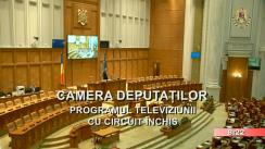 Ședința în plen a Camerei Deputaților României din 10 martie 2020