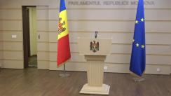 Declarație de presă susținută de fracțiunea Partidului ȘOR în timpul ședinței Parlamentului Republicii Moldova din 10 martie 2020