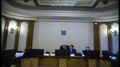 Ședința comisiei pentru industrii și servicii a Camerei Deputaților României din 10 martie 2020