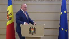 Declarații de presă susținute de președintele Comisiei juridice, numiri și imunități, Vasile Bolea, privind concusul CSM