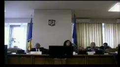 Ședința comisiei pentru administrație publică și amenajarea teritoriului a Camerei Deputaților României din 10 martie 2020
