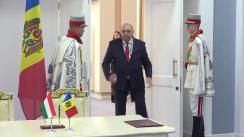 Conferință de presă susținută de prim-ministrul Republicii Moldova, Ion Chicu, și prim-ministrul Ungariei, Viktor Orban
