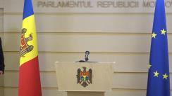 """Conferință de presă susținută de către deputatul Iurie Reniță cu tema """"Inițiativa legislativă a deputatului și Ambasadorului Iurie Reniță de modificare substanțială a Legii nr.761/2001 cu privire la Serviciul Diplomatic"""""""